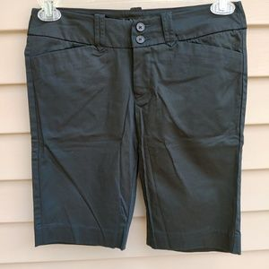 |Mossimo| Bermuda Shorts Black Cotton Blend